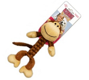 Kong Braidz Monkey Dog Toy