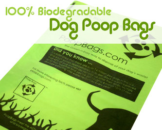 Half Off Biodegradable Poop Bags with Free Shipping!