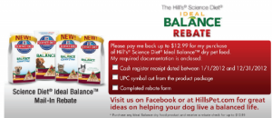Science Diet Free Pet Food after rebate