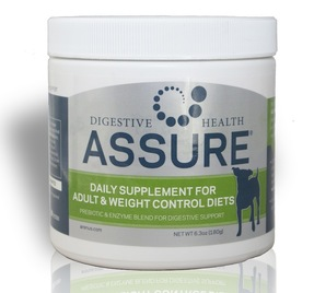 Assure Digestive health supplement for dogs