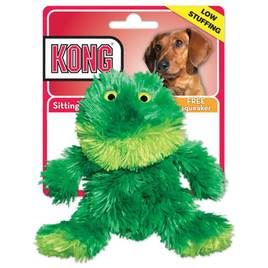 kong frog dog toy