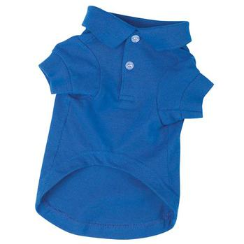 polo dog shirt nautical blue