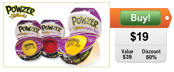 powzer doggyloot deal for dogs
