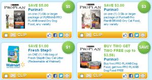 printable pet food coupons at coupons.com