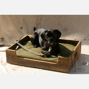 reclaimed wood pet divan