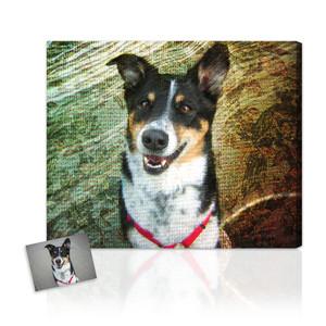 Pet photo pop art makeover