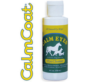 CalmEyes all-natural eye cleanse for animals