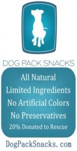 Dog Pack Snacks
