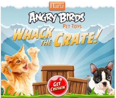Hartz Angry Bird Giveaway