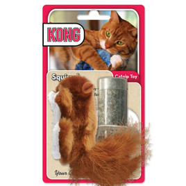 KONG Catnip Squirrel Cat Toy