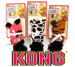 Kong Kickaroo Catnip Mouse toys