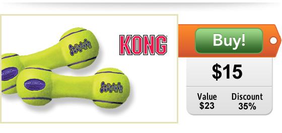 DoggyLoot KONG dog toy deal