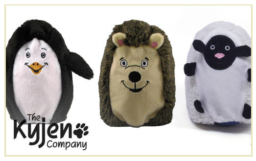 Kyjen Hard-Boiled Softies Dog Toys