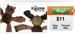 Kyjen Squigglers dog toys