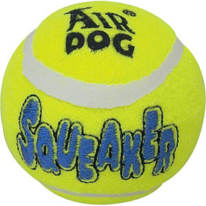 KONG air dog tennis ball dog toy