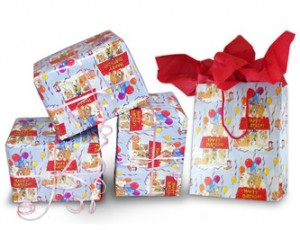 pet gift wrap set
