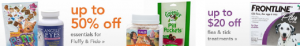 drugstore.com pet deals and special offers