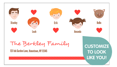free family business cards