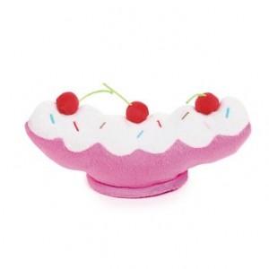 grriggles ice cream sundae dog toy
