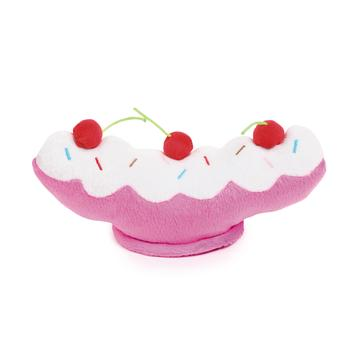 grriggles ice cream sundae dog toy