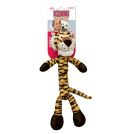 KONG Braidz Tiger Dog Toy