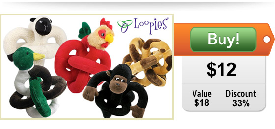 talking animal dog toy deal