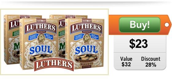 luthers premium dog treats