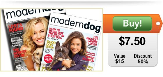 Half Off Modern Dog Magazine