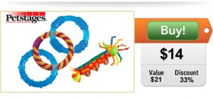 petstages dog toy deal