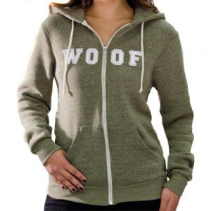 Woof Hoodie by Mobu Couture