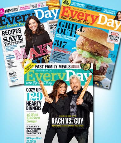 rachael ray magazine deal