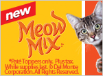 Free Meow Mix Sample plus coupon