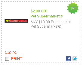 Pet Supermarket Discount Code >> Pet Supermarket Coupons May 2018 Pampers Mobile Coupons 2018