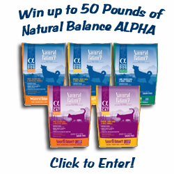 Natural Balance ALPHA Pet Food Giveaway!