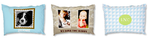 Custom pillow cases only $5