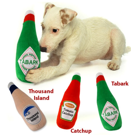 Dog Toy Condiments