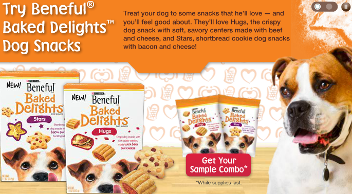 Free Beneful Baked Delights Dog Treat Samples