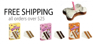 Free Shipping on Puppy Cake