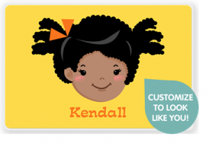 customize with kid or pet clip art or add photo