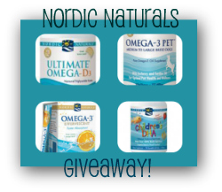 Nordic Naturals Giveaway for Pets & People!