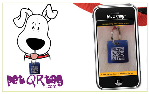 Pet QR Tag DoggyLoot Deal