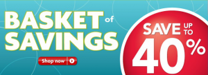 PetSmart Basket of Savings Event