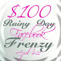 Rainy Day Frenzy Blogger Event Giveaway