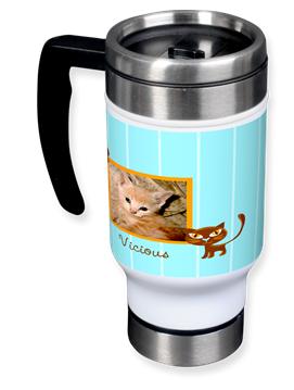 Vicious Kitty Travel Mug