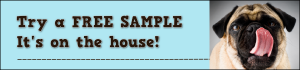 free bully stick sample