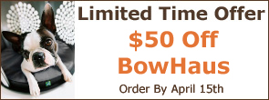 $50 off BowHaus from DenHaus Pet Furniture