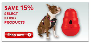 15% Off KONG products at PetSmart
