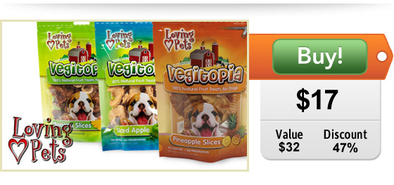Dog treat deal at DoggyLoot!