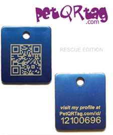 PetQRtag keeps your pet safe