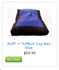 ruff n tumble dog bed on sale